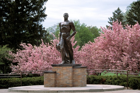 Sparty Statue