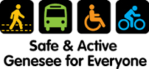 Safe & Active Genesee for Everyone logo