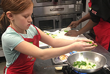 Flint Kids Cooking Class